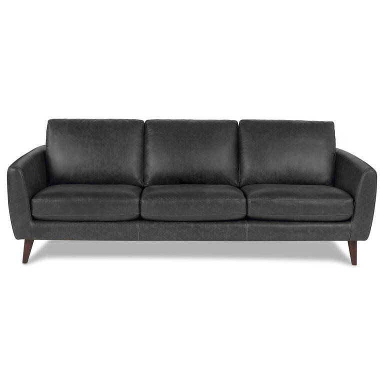 Henderson Leather Sofa -Tio Licorice