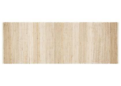 Tapis coul. Chatham 30x84 naturel/ivoire