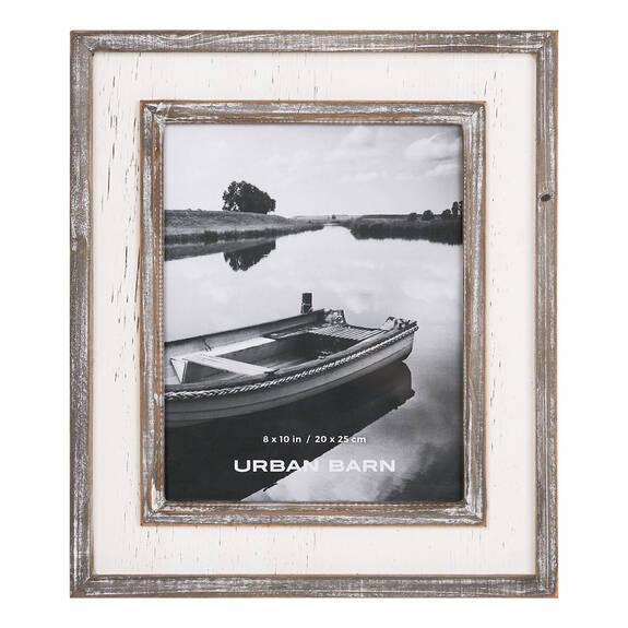Ashworth Frame 8x10 Grey/White