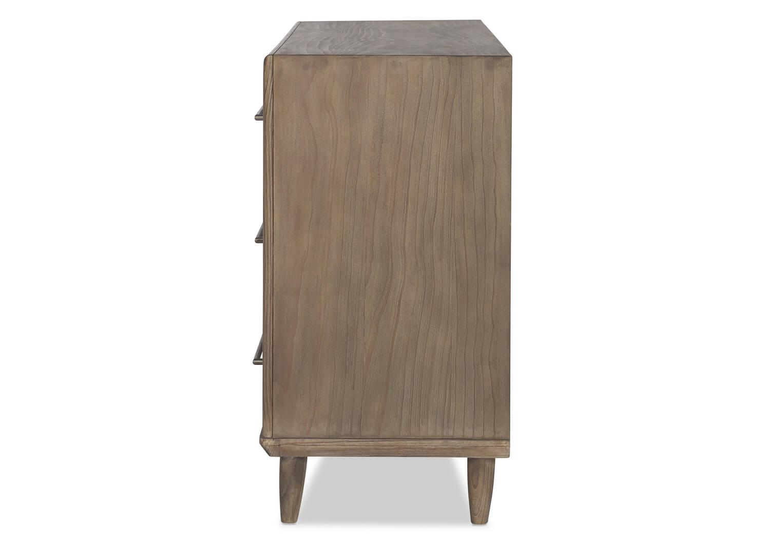 Bureau à 6 tiroirs Luna -Stone pin