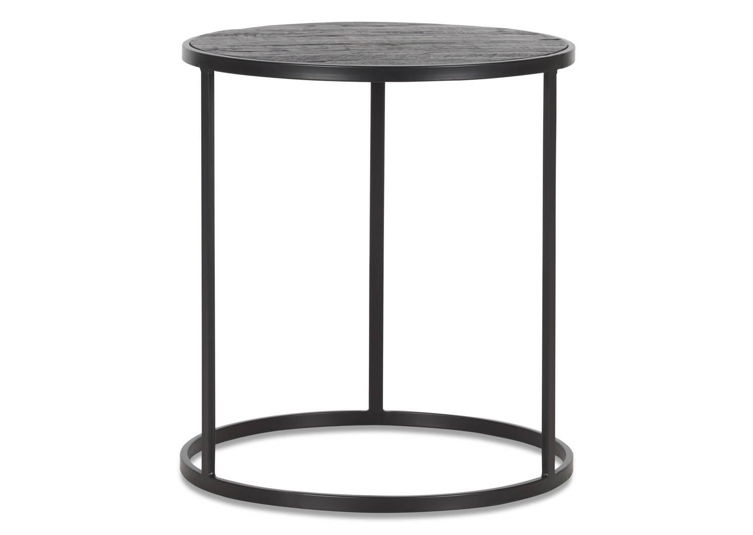 Madera Side Table -Oak Noir