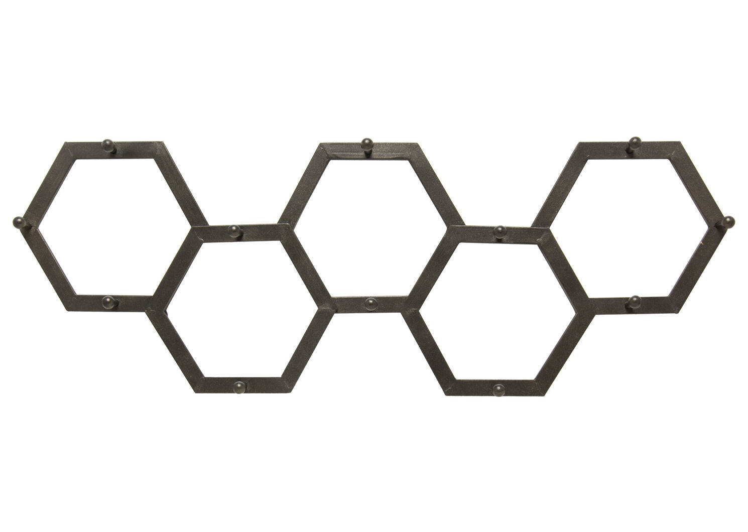 Hexa Wall Hook Black