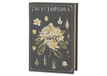 Encyclopedia Book Box Large Black