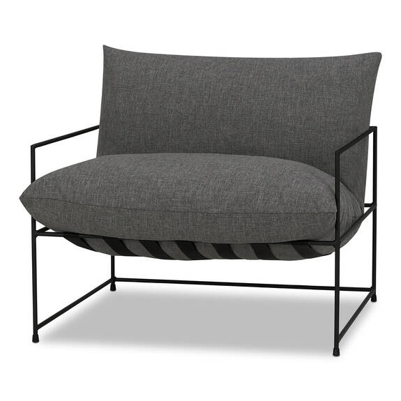 "Mondo Chair 38"" -Uno Pewter"