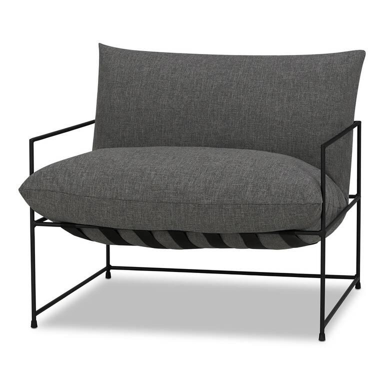 "Mondo Chair 38"" -Uno Pewter"