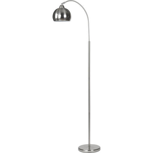 Aura Floor Lamp Polished Steel