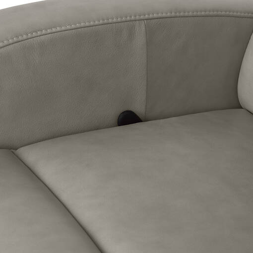 Fauteuil inclinable en cuir Imatra personnalisé