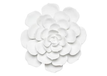 Grande déco murale Floressa blanche