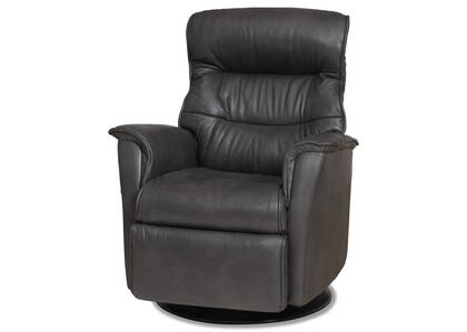 Paramount Leather Recliner -Sol Slate