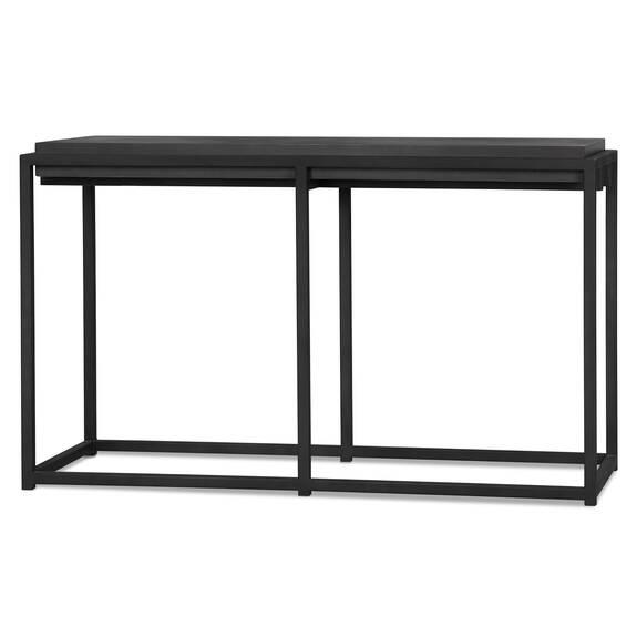 Crete Console Table -Ida Black