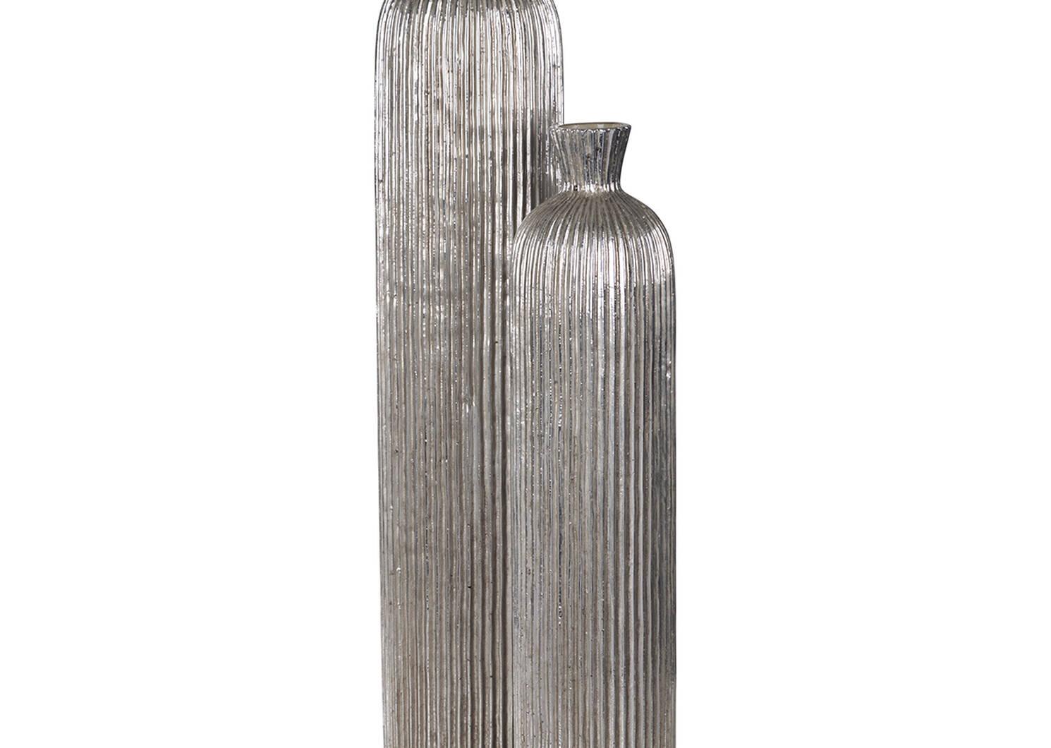 Blaire Vase Large Silver