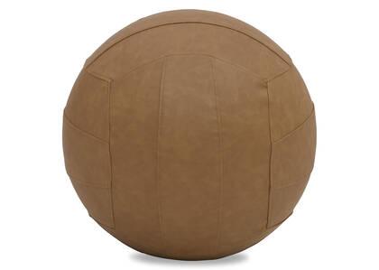 Ballon de yoga Padma brun clair