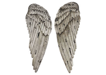 Evangeline Wings Wall Decor Set