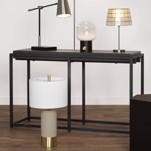 Table console Crete -Ida noir