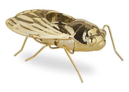 Cicada Tealight Holder Brass