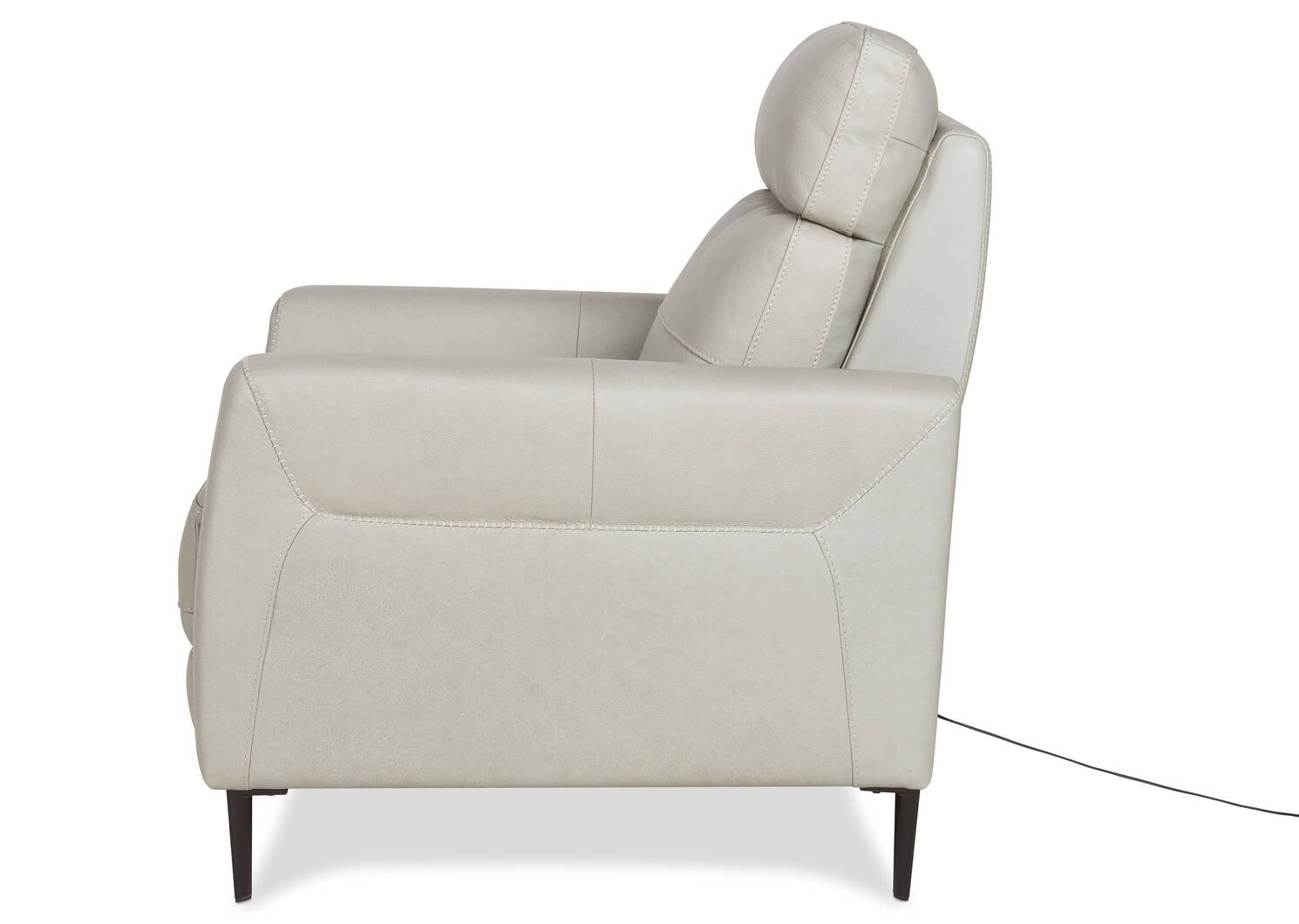 Pearson Leather Recliner -Ashby Dove