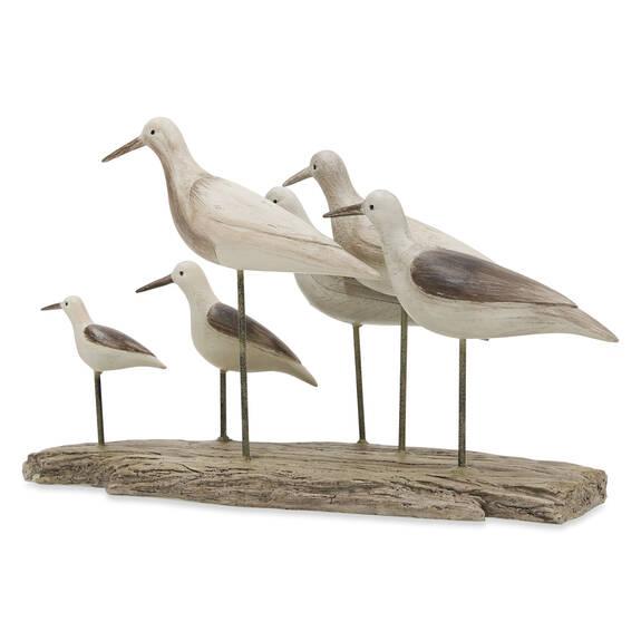Sandpiper Sculpture Natural