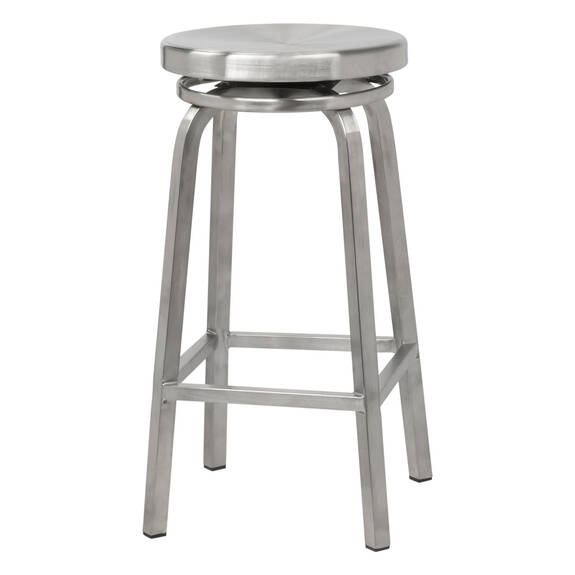 Rhythm Stool 26 -Brushed