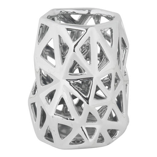 Anais Tealight Holder Large Silver