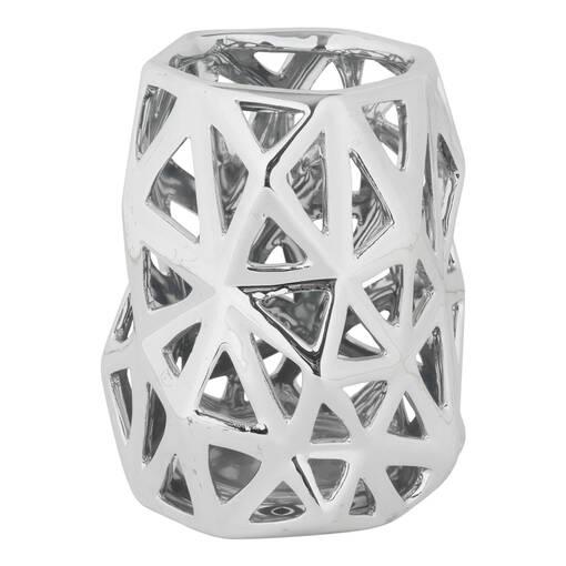 Anais Tealight Holder Large Silver