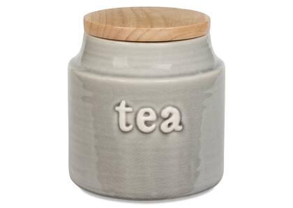 Lilian Tea Canister Grey
