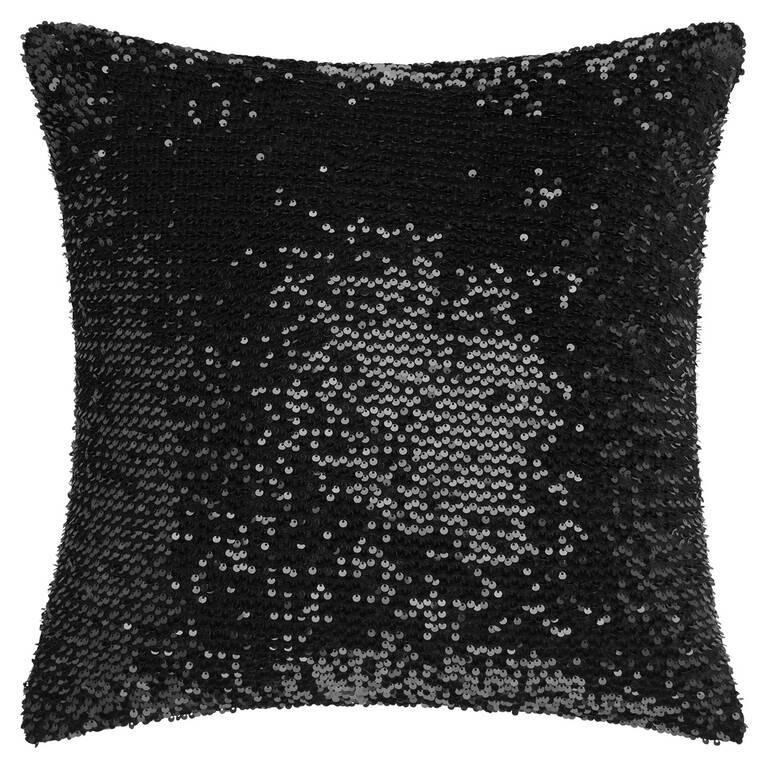 Solange Sequin Toss 20x20 Black