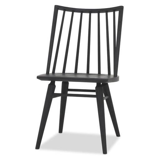 Chaise Hershel -noire