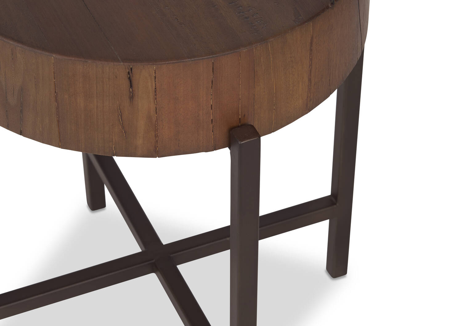 Atwell Side Table -Lowry Nutmeg