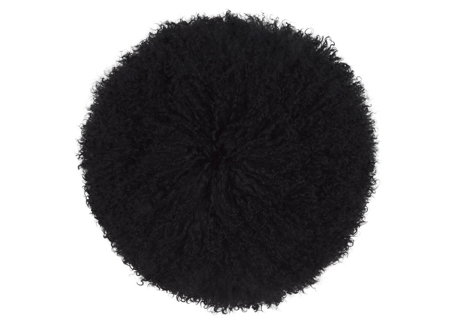 Coussin rond Mongolian 16x16