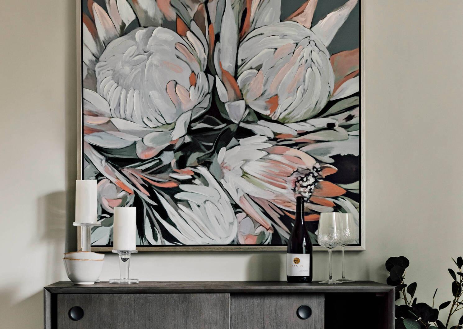 Protea Wall Art