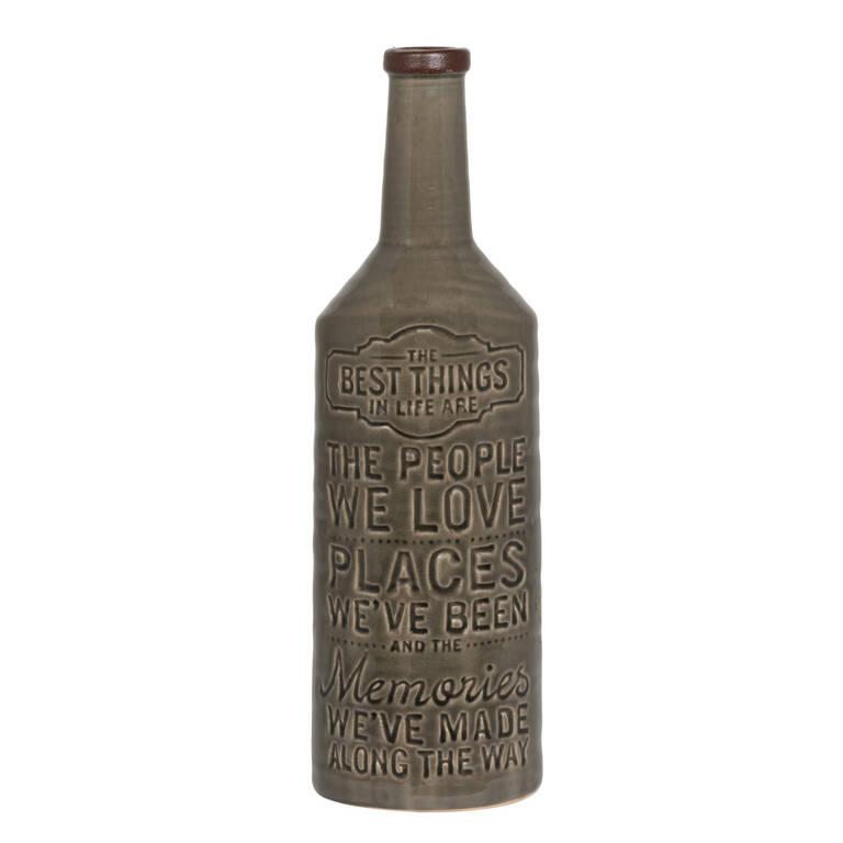 Grand vase The Best acier