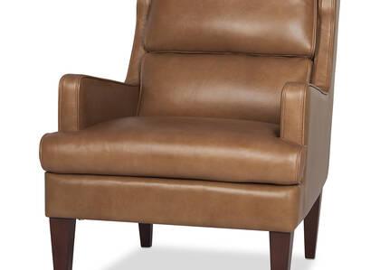 Idris Leather Armchair -Mira Rum