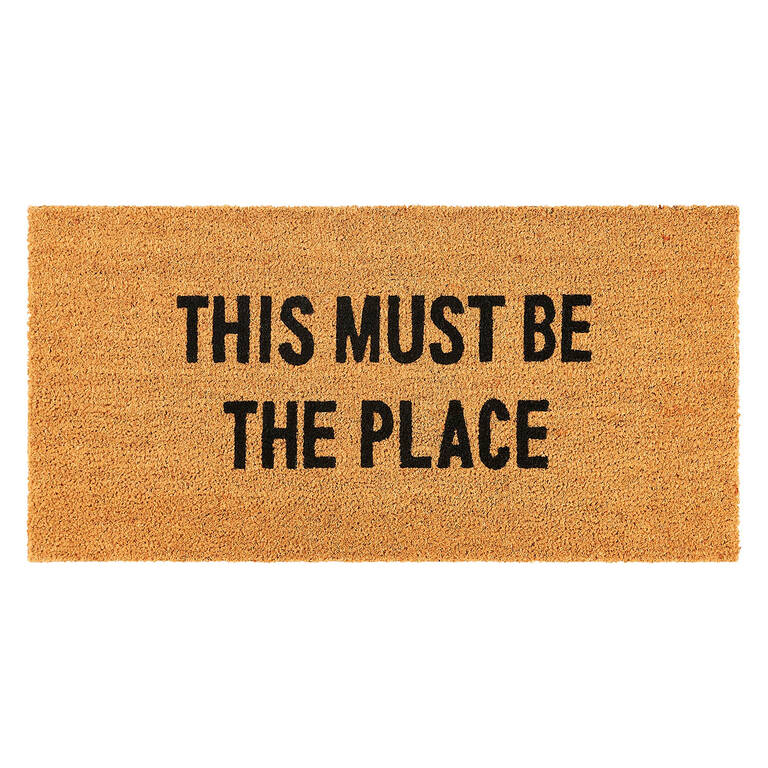 Must Be The Place Doormat