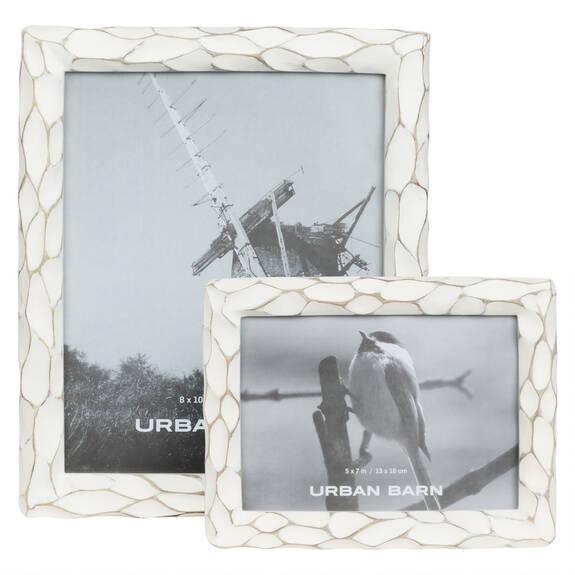 Kempton Frames - Antique White