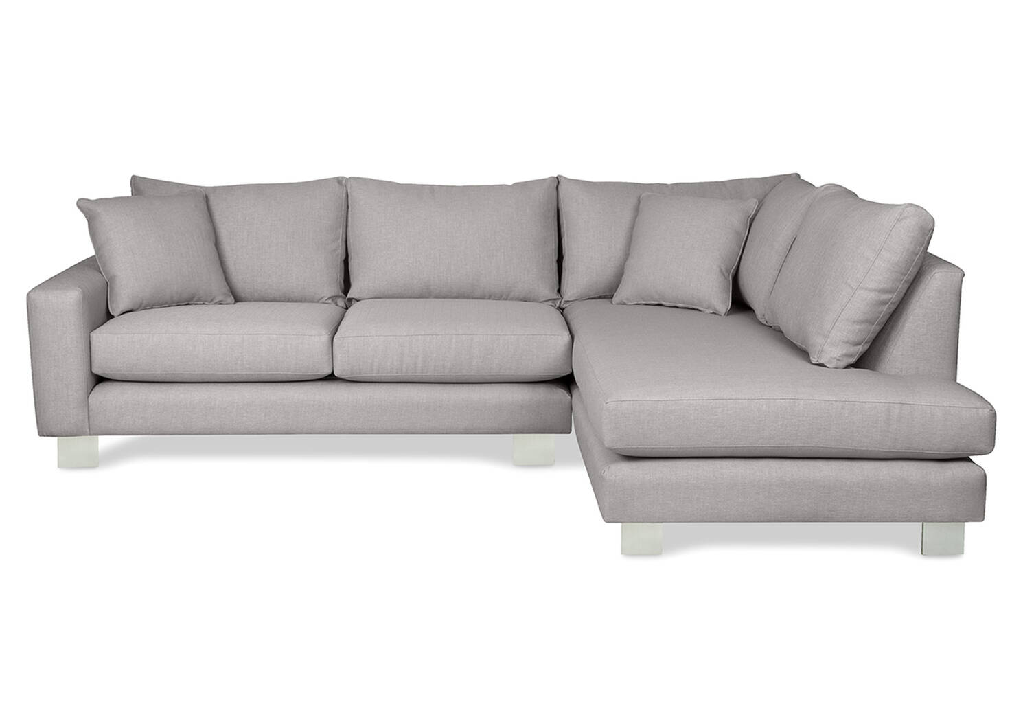 Tribeca Custom Sectional with Chaise Return