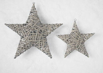 Willow Stars - Grey
