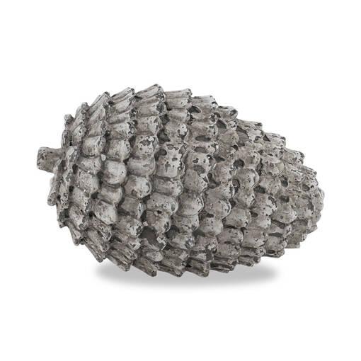Eli Pine Cone Decor Ball Oval