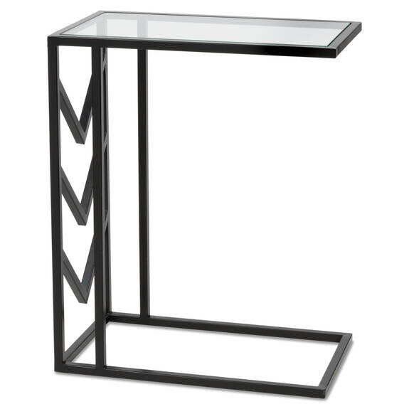 Niagara Tuck Side Table -Black