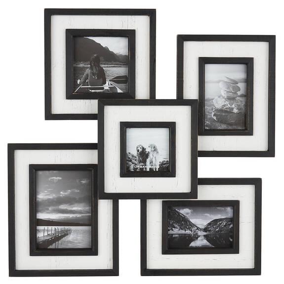 Ashworth Collage Frame Black/White