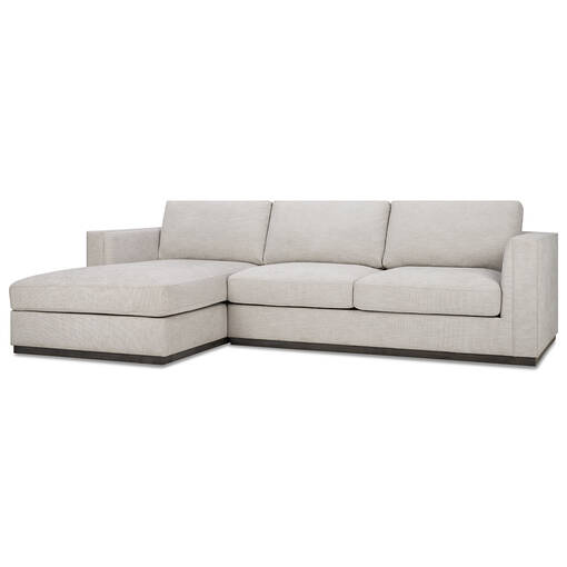 Sonoma Sofa Chaise -Marley Dove
