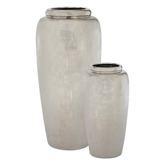 Cleo Vases - Silver