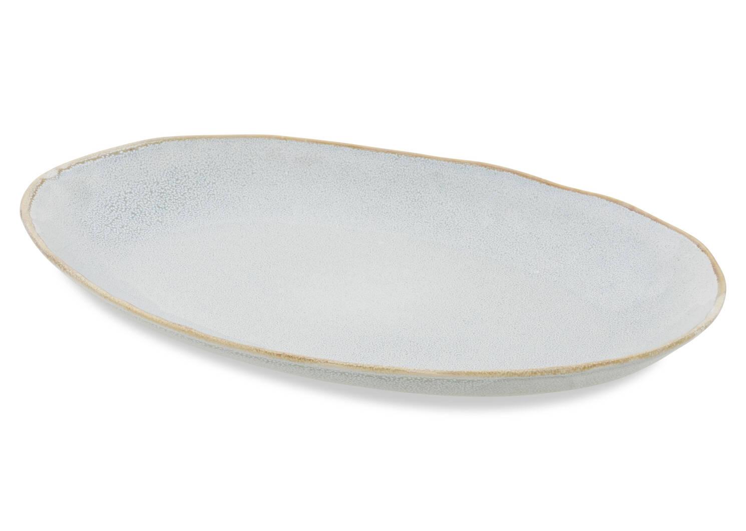 Crofton Serving Platter Light Grey