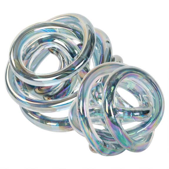 Allura Glass Balls - Irridescent