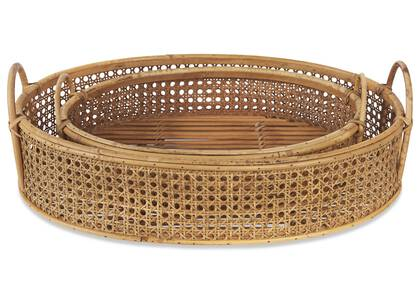 Greco Oval Trays Natural