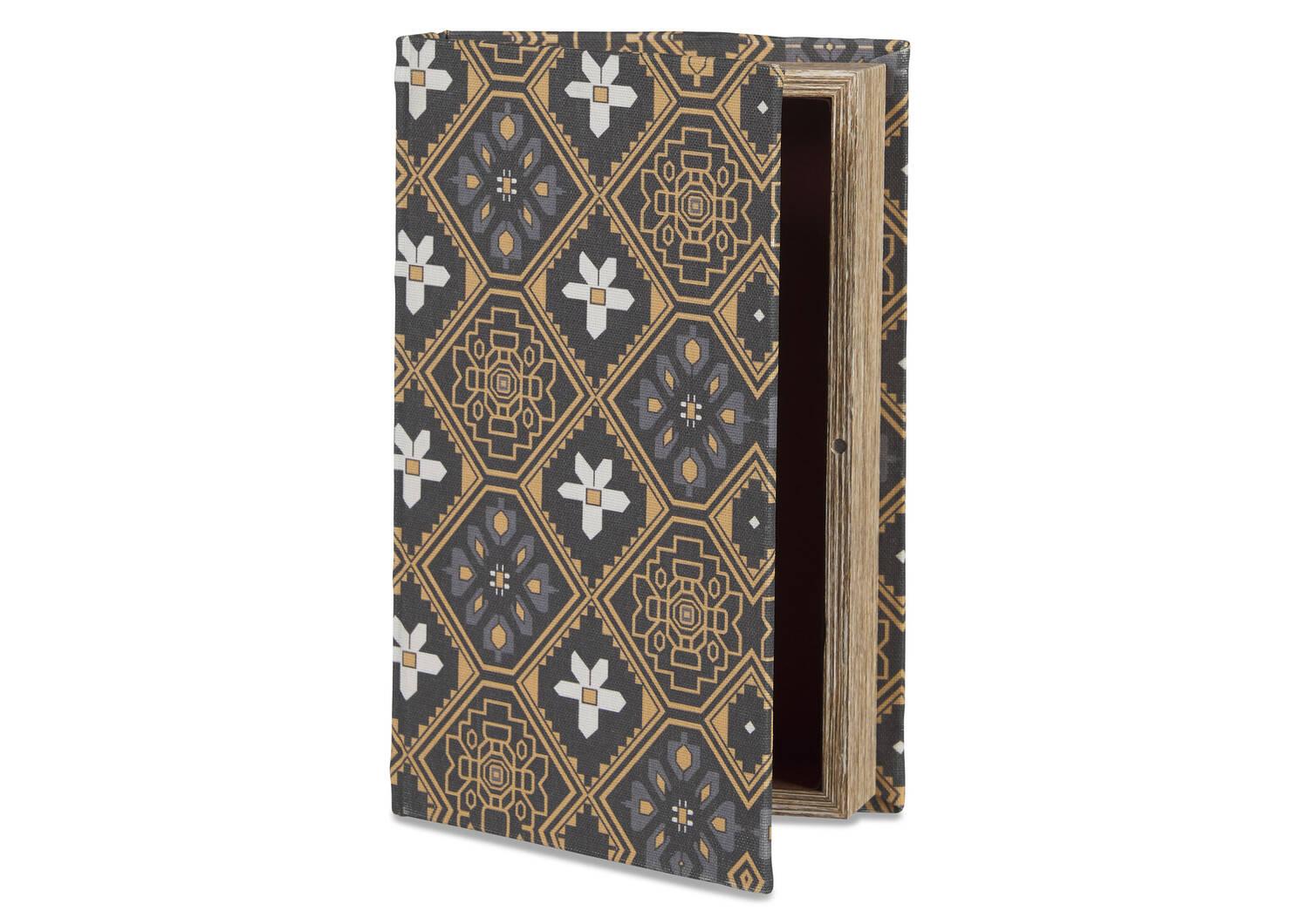 Almanac Book Box Medium Goldfield/Black