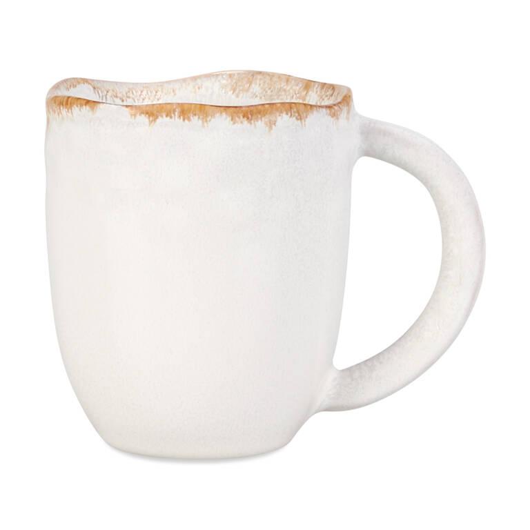 Tasse Crofton blanc antique