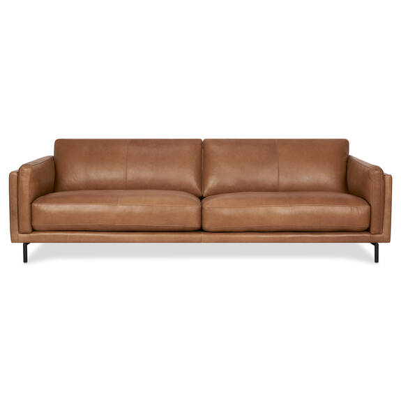 Renfrew Leather Sofa 94 -Adler Tan