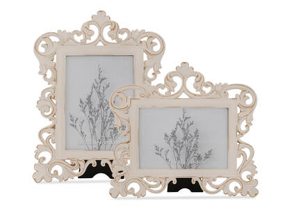 Lillianna Frames - Antique White