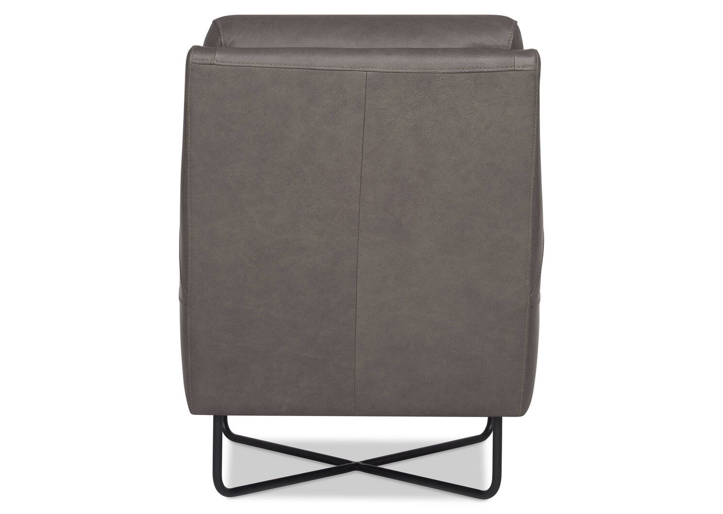 Gatwick Leather Armchair -Ashby Stone