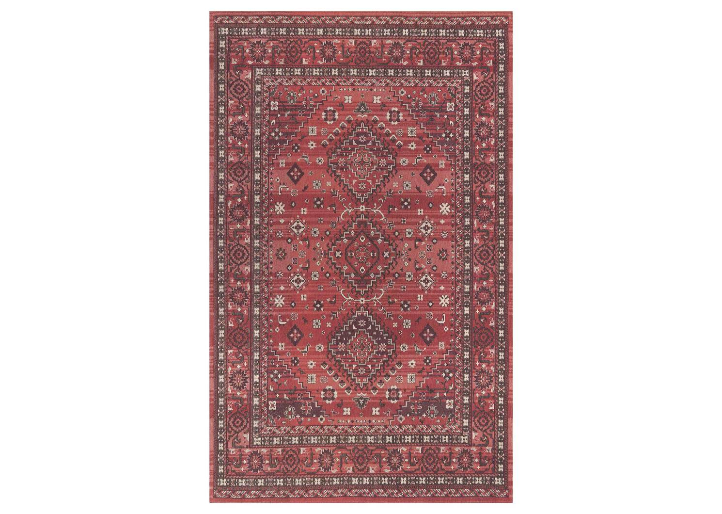 Kindred Rug 96x120 Clay/Ivory